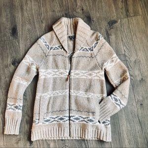 Eddie Bauer Wool Goose Sweater | S